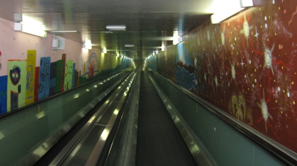 The Travelator, beneath Sydney