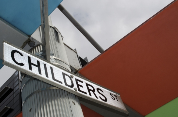 Childers St street sign